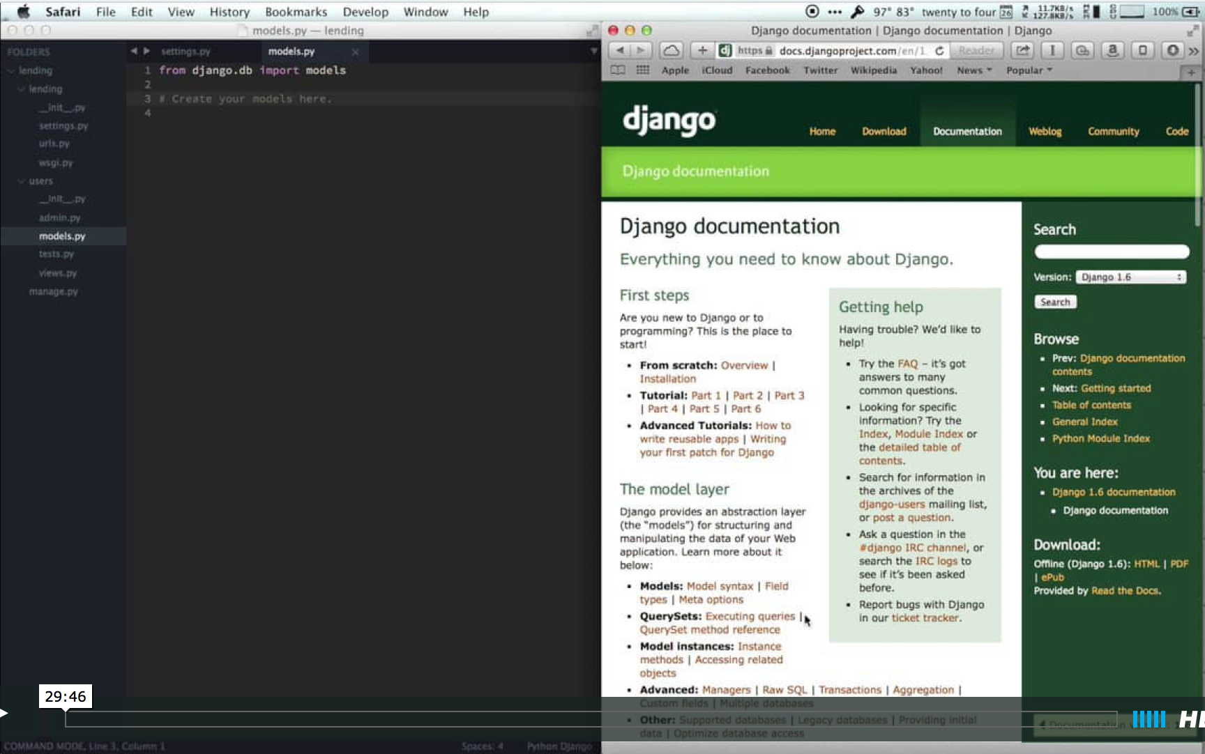 Starting the Lending Project | Getting Started With Django
